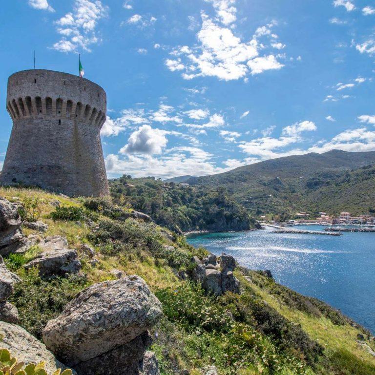 Capraia torre del porto