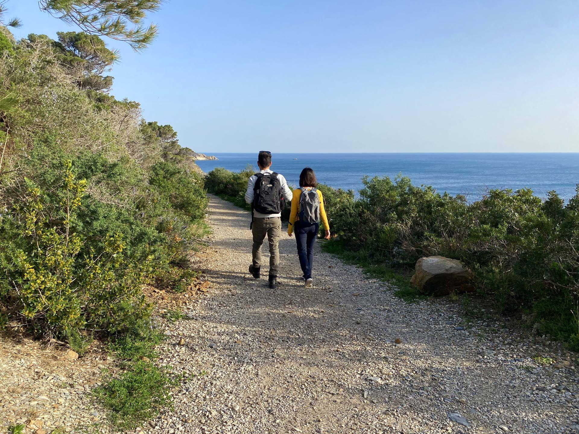 arcipelago toscano sentiero trekking