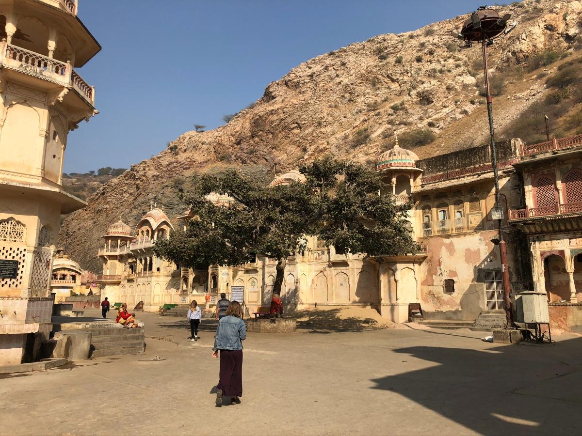 Galta Jil Temple Jaipur India
