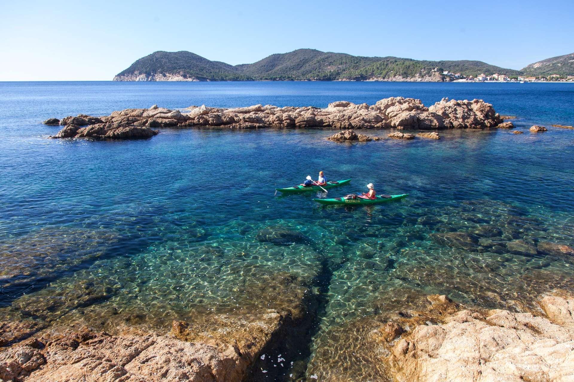 kayak isola d'elba