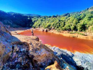 miniere Rio Marina Laghetto rosso
