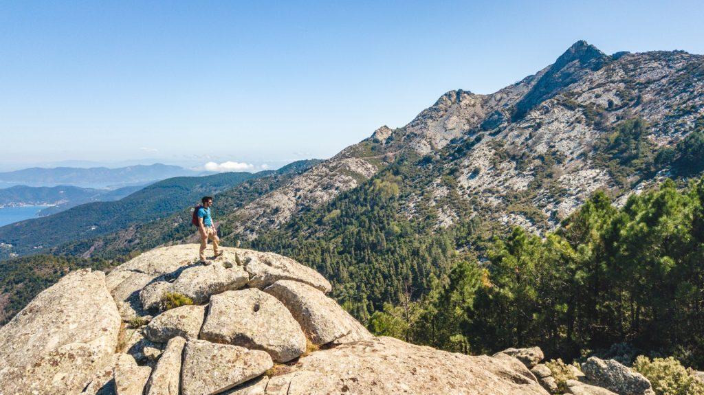 Grande Traversata Elbana Monte Capanne