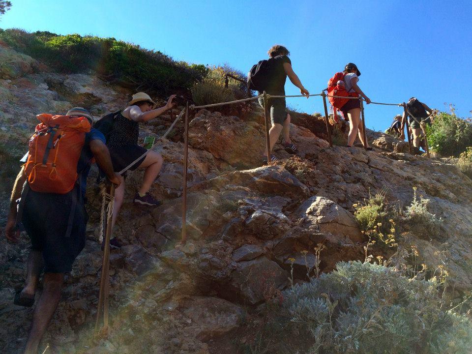 giglio trekking