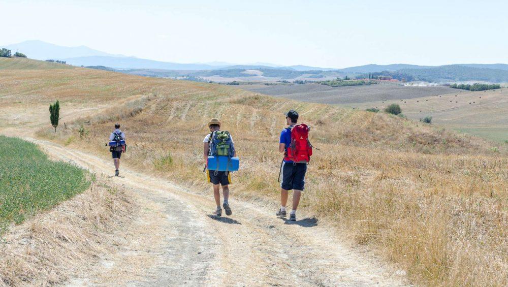 via francigena trekking Toscana