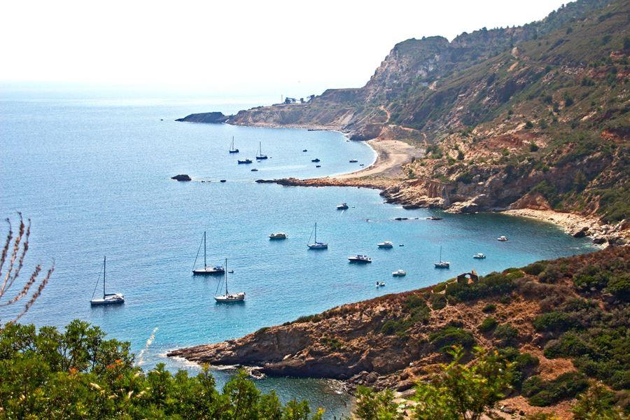Spiaggia miniere cosa vedere all'Isola d'Elba