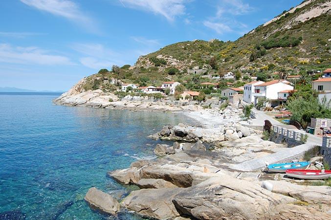 Chiessi spiaggia cosa vedere all'Isola d'Elba